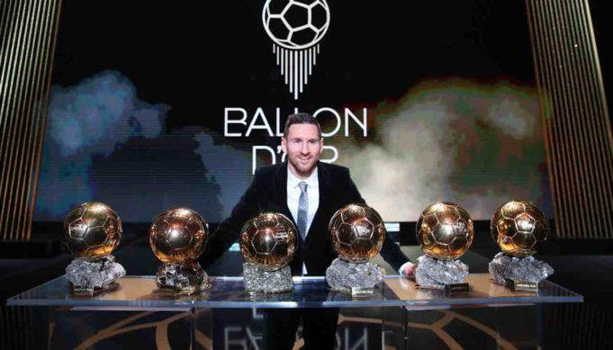messi pallone d'oro
