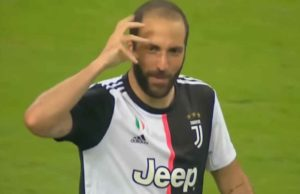 infortunio Higuain