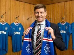 steven gerrard rangers