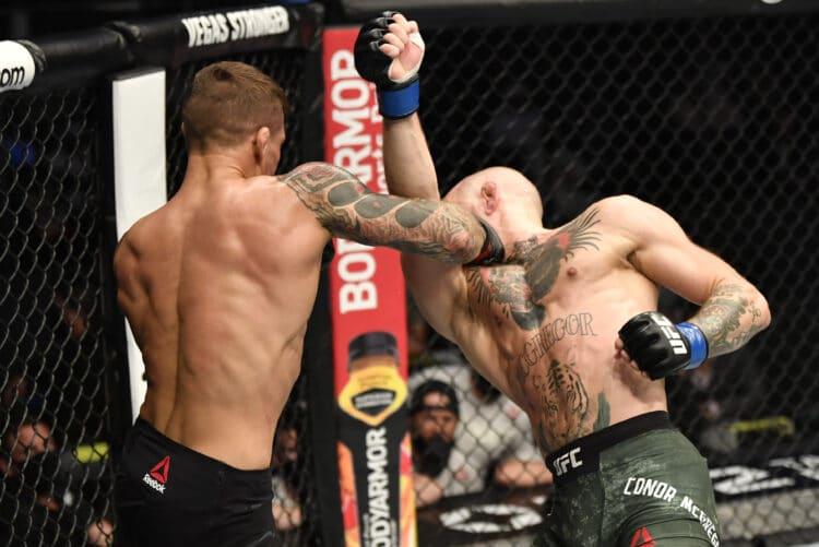 UFC 257 Poirier McGregor