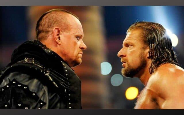 Triple H Undertaker Elimination Chamber