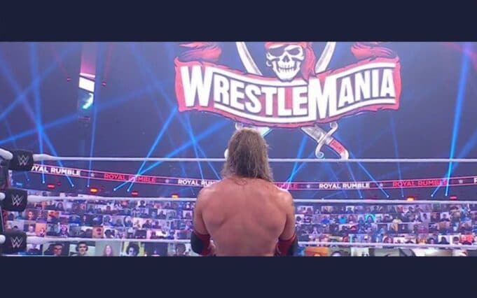 edge wrestlemania