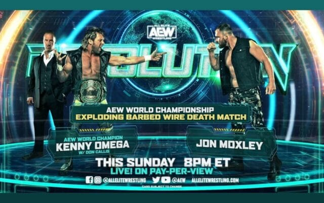 AEW Explosive Barbed Wire match