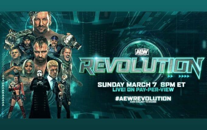 aew revolution report 2021
