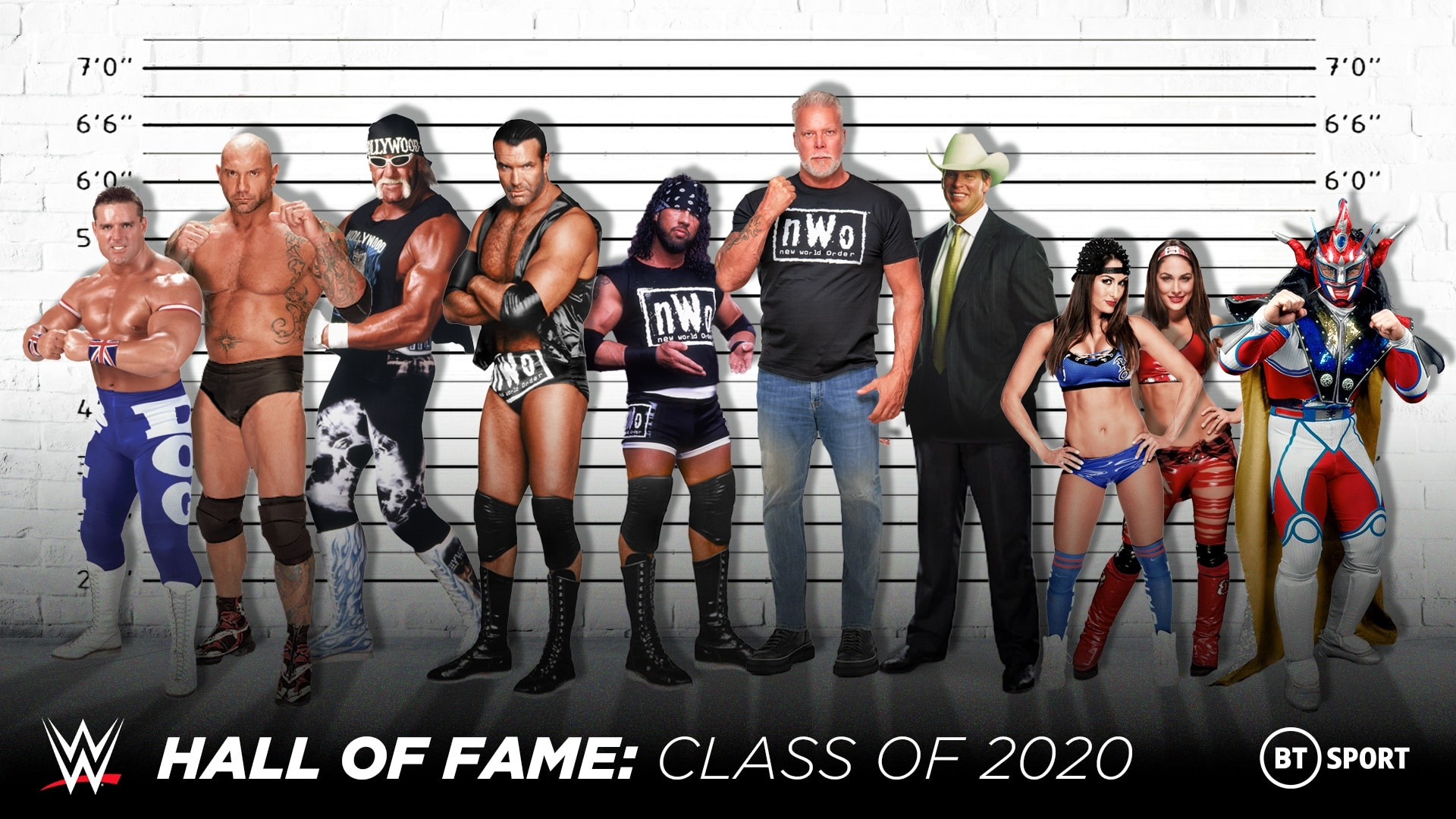 wwe hall of fame class 2020