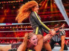 WWE Becky Lynch Ronda Rousey