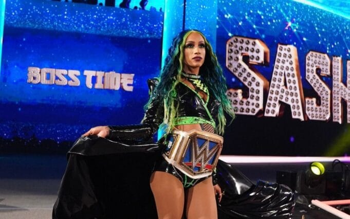 WWE Sasha Banks WrestleMania 37