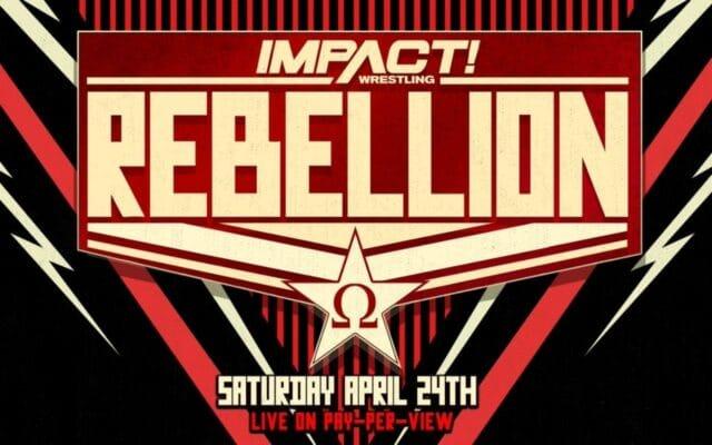 impact wrestling rebellion report 2021 card