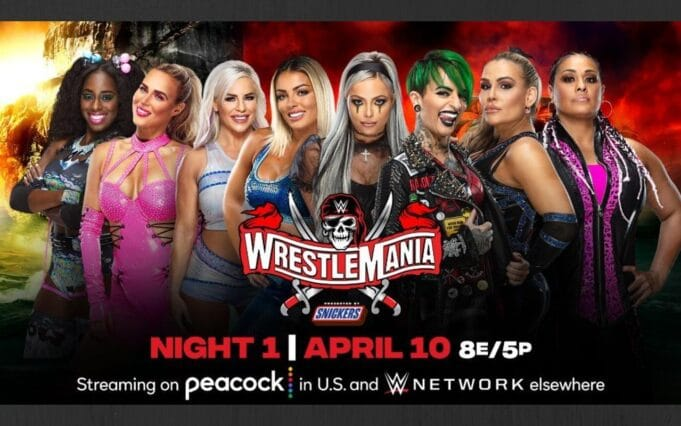 wrestlemania 37 women's tag team championship turmoil
