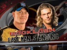 WWE Backlash John Cena VS Edge