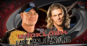 WWE Backlash John Cena VS Edge