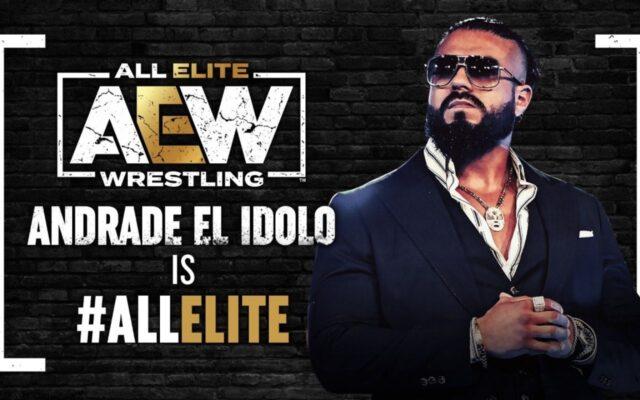AEW Andrade El Idolo