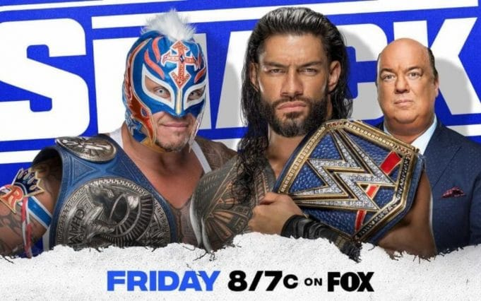 WWE Hell in a Cell 2021 Reigns VS Mysterio SmackDown