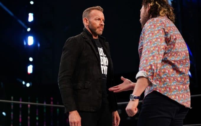 AEW Christian Cage Kenny Omega