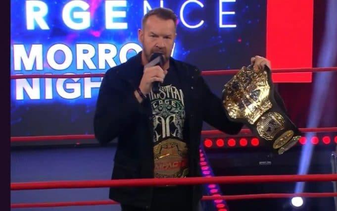 Impact Wrestling Christian Cage TNA World Heavyweight Championship