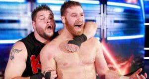 WWE Kevin Owens Sami Zayn